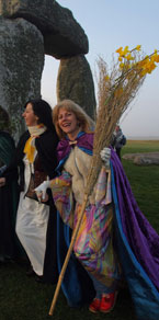Pagans at Stonehenge